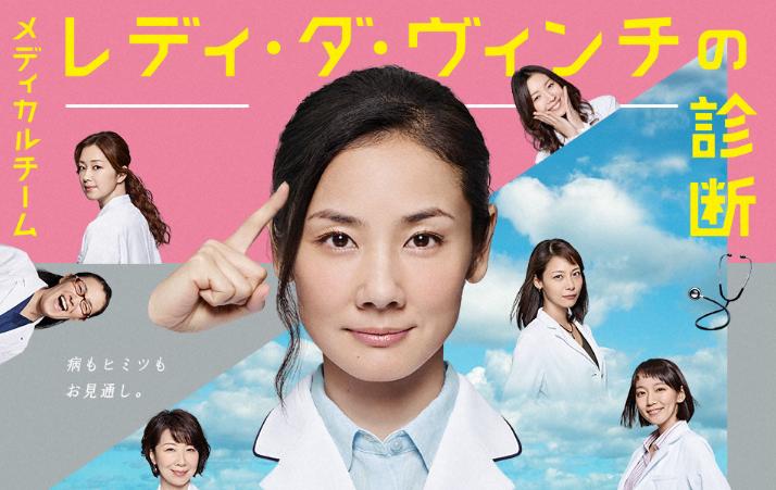 吉田羊ドラマ「レディ•ダ•ヴィンチの診断」手術しないドクターは幻聴に悩まされる?