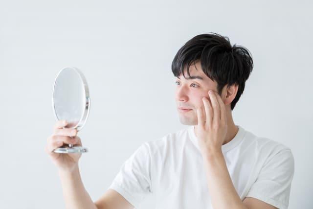 色白になりたい男の肌を白くする方法